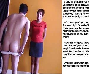 Male Humiliation Captions